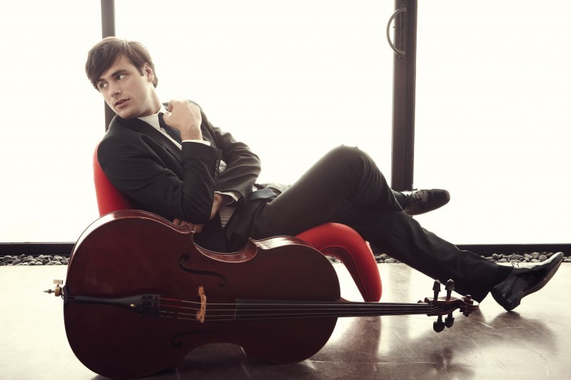 Stjepan Hauser performed for Prince Charles at St James' Palace in