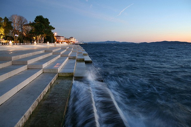 Tourist wonder-Zadar, Croatia