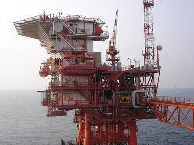Pilons for gas  exploatation platforms.