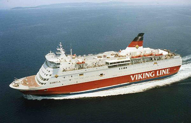 CAR PASSENGER FERRY ''ISABELLA'' - Most Outstanding  ship  of the year 1989, by the US magazine ''Maritime Reporter &   Engineering News''.