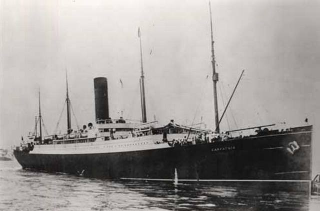 Sinking Of The Titanic In 1912 And Croatians