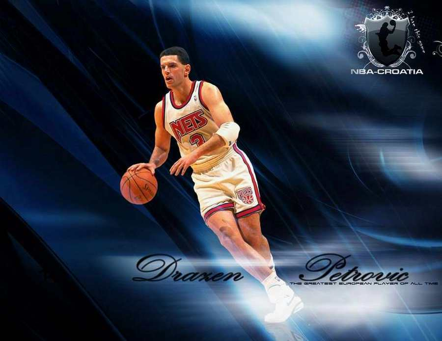 Drazen Petrovic 1964-1993 distinguished Croatian basketball player ... 9ea85df6d