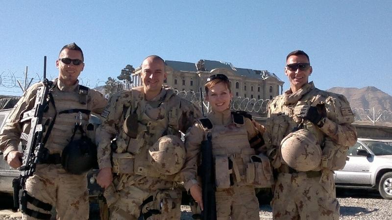 Vlasta Zekulic Croatian Army Female Officer Trained Afghan