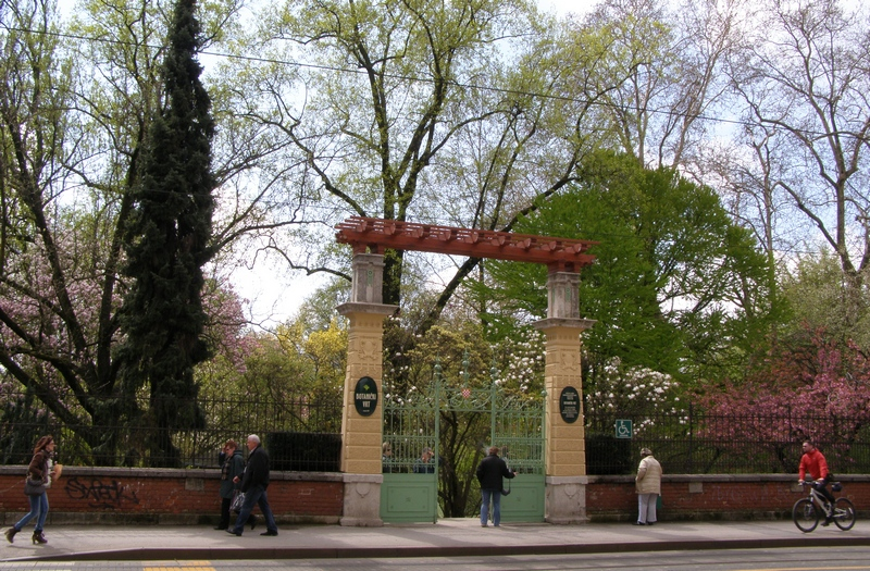 Botanical Garden In Zagreb Founded In 1889 Through The Lens Of