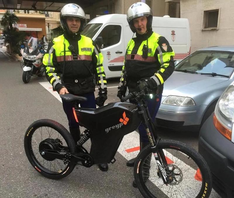 Monaco Police Testing Croatian Bikes Greyp Bikes Breakthrough To