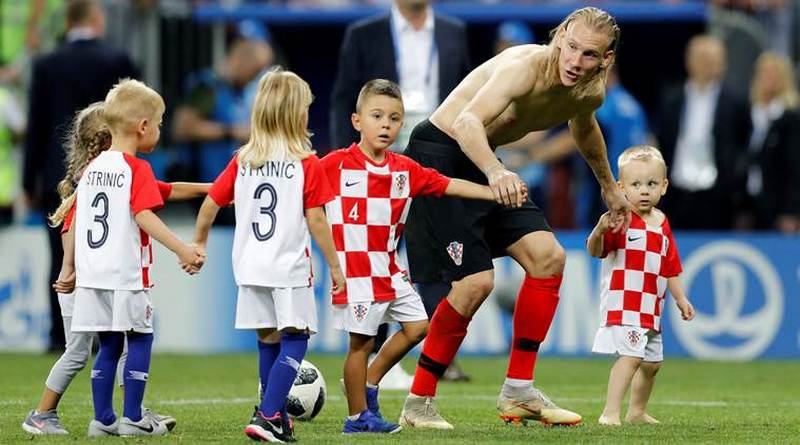 Croatia and France in the final of the FIFA World Cup 2018