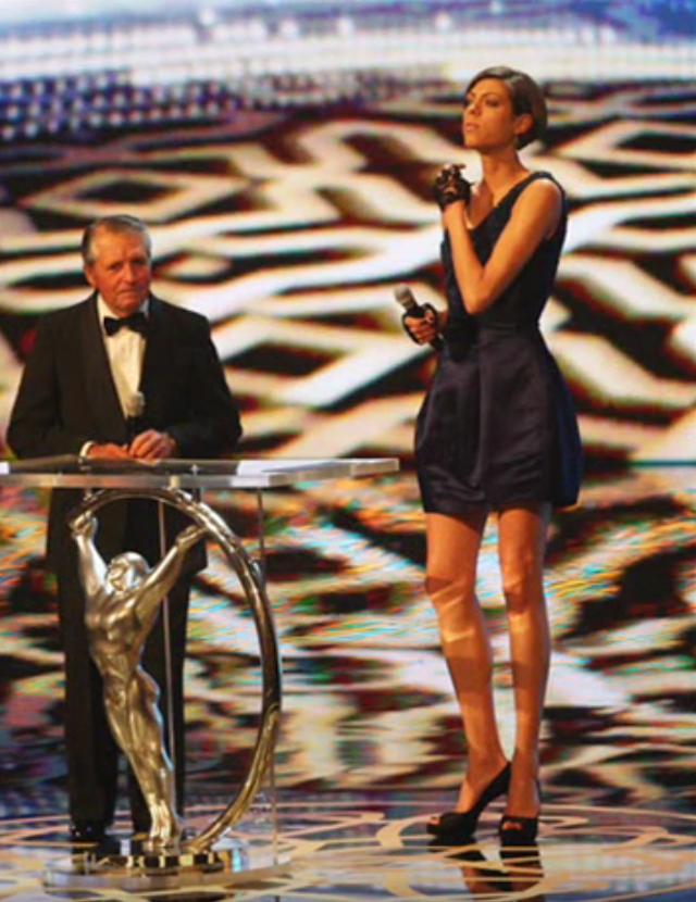Blanka Vlasic of Croatia proclaimed the best female athlete in the