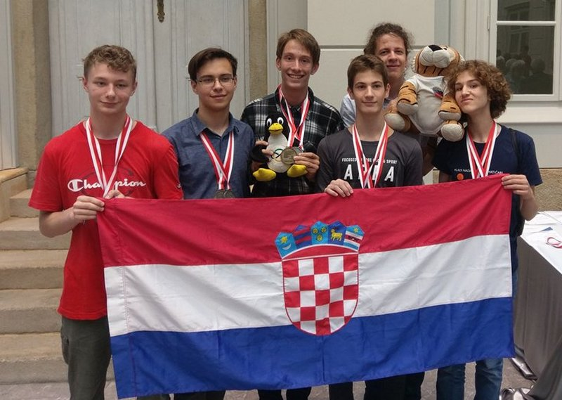 Croatian students placed second at the 2018 Middle European